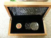 2015 Canada 12g 14k Gold Cad100 Looney Tunes Bugs Bunny And Friends Pocket Watch