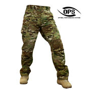 O.p.s Combat Stealth Warrior Pants In Crye Multicam Soft Knee Pads Insert