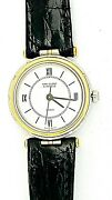And And039la Collectionsteel And Gold 18k Ladies Watch Vca Service Pouch