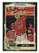 2017 Topps Gypsy Queen Base Parallel Black Mike Trout 1/1