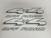 Pair 4x4 Decals For 1997- 1999 Ford F150 Other Makes Top Quality