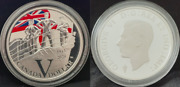 Royal Canadian Navy 2020 Victory Privy V-e Day 75th Silver Proof Dollar 1 Coin
