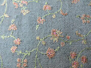 Antique/2 Ply/baby Cashmere/embroidery/ Blanket/shawl/shahmina/76 Ins X 41 Ins