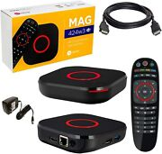 Mag 424 W3 Mag 424w3 4k Built-in Wifi And Hdmi Cable The Evolution Of Mag 324