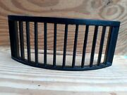 Vintage Old Antique Fire Iron Grate Front Georgian Victorian