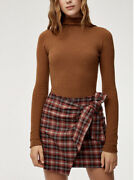New With Tag Nwt Wilfred Dorine Skirt - Red Plaid - Size 10 - Sold Out