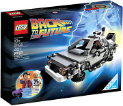 Lego The Delorean Time Machine Building Set Kids Car Toy Christmas Gift