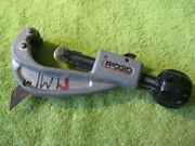Good Used Ridgid Tube Cutter Model 151 Capacity 1/4 Inch To 1 5/8th Inch O.d.