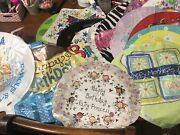 Lot Of 20 Mylar Foil Balloons Birthday Baby Shower, Fathers Mothers Day Free Shp