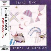 Brian Eno Thursday Afternoon Japan Cd Shm Paper Sleeve Vjcp-98056 2013 New