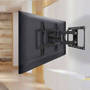32 45 47 48 55 65 70 85 Fully Motion Tv Wall Mount Dual Arm Bracket Hold 176lbs