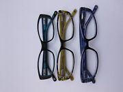 Cinzia Chisel Reading Glasses With Case In Three Colors