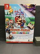 Nintendo Switch Paper Mario The Origami King Store Display 20x15x1 Htg