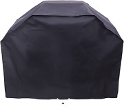 Char-broil 2 Burner Medium Basic Grill And Smoker Cover, 52w X 40h X 23d