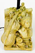 Beethoven Classical Music Art Violin Table Desk Lamp Base Excellent Working