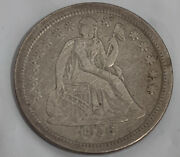 1856 Seated Liberty Silver Dime Extra Fine+/au Rare Estate Find Awesome Cond