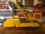 Marx Magnetic Crane Truck. Extremely Nice One Owner Truck. Very Nice. 1950andrsquos