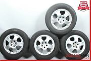 98-05 Mercedes W163 Ml320 Complete Front And Rear Wheel Tire Rim Set Oem