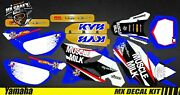Kit Deco Motorcycle For / Mx Decal Kit For Yamaha Yz 85 - Muscle Milk -
