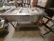 Duke 3 Well Steam Table Electric 45 Wide 208v 1ph Model Dcasi3esw Commercial Ho