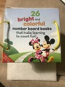 Disney Mickey Mouse Clubhouse Numbers Discovery Box 26-number Board Books 2009