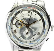 Maurice Lacroix Masterpiece World Timer Mp6008-ss002-110 Automatic Menand039s_559975