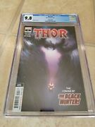 Thor 4 Cgc 9.8 2nd Second Printing Donny Cates 1st Cameo Black Winter