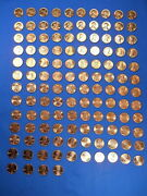 1953-2021 Lincoln Cent Penny Set Complete 151 Coin Collection Bu Wheat Shield
