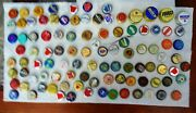 98 Collectible Used Bottle Caps Beer Soda