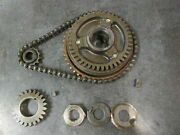 80 81 82 Yamaha Sr250 Starter Clutch With Chain And Gear Sr 250 Exciter