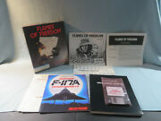 Microprose Flames Of Freedom Pc Video Game 3.5 Floppy Disks