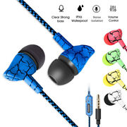 Extreme Bass Headset Crack In-ear Earphone Stereo Earbuds Headphone With Mic