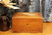 Vintage Treasure Chest Personalized Wooden Chest Of Drawers Russia 19th