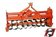 Rotary Tiller 71 Wide Category 1 3-point Heavy Duty Pto Drive For Kubota