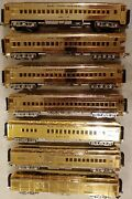 Mth 20-4029 Nyc 7 Gold Plated Millennuim Baggage And Observation 4 Passenger Cars
