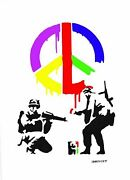 Banksy - Limited Edition 9 Of 200 Cnd Soldiers