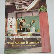 Top Value Stamps Family Gift Catalog Household Items Tv Trays Sheets Peddle Car