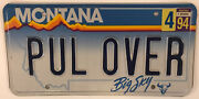State Police Vanity Pull Over License Plate Policeman Road Cop Law Enforcement