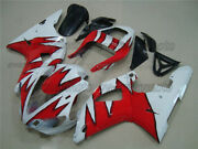 Injection Body Kit Fairing Fit For Yamaha Yzf R1 2000-2001 Red White Abs Mold Aa