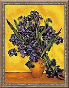 Counted Cross Stitch Kit Riolis - Irises After Van Goghand039s Painting