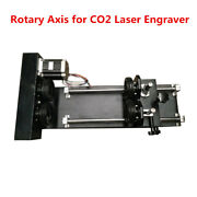 Rotary Axis For Co2 20w / 30w / 50w Fiber Laser Engraver Engraving Machine