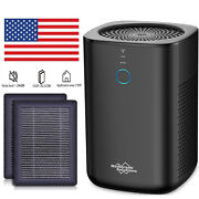 Large Room Air Purifier True Hepa Filter Cleaner For Home Smoke Allergies