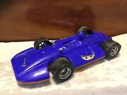 """Vintage 1970's Empire Plastic 11"""" Indy Race Car Plastic Toy-with Driver"""