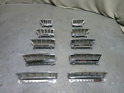 65 66 Shelby Mustang Fastback Side Window Vent Chrome Quarter Louver Extractors