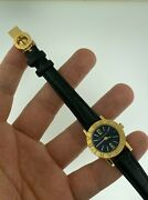 Bvlgari Bb 23 Gl 18k Solid Yellow Gold 23mm Date On Solid 18k Deployment Buckle