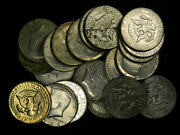 20 Coin Lot Of 40 Silver 1965-1969 Kennedy Half Dollars Choose How Many Lots