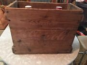 Vintage Coca Cola One Gallon Jugs With Wooden Crate