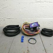 1961 - 1972 Lincoln 8 Circuit Wire Harness Fits Painless Fuse Block Complete