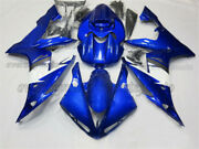 Injection Mold Abs Plastic Fairing Set Fit For Yamaha Yzf R1 2004-2006 Blue Aas