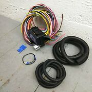 1955 - 1958 Chevrolet Full Size 8 Circuit Wire Harness Fits Painless Complete